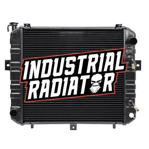 Komatsu/Allis/Kalmar Forklift Radiator - 17 3/4 x 16 3/4 x 2 3/8
