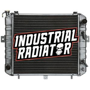 Komatsu Forklift Radiator - 17 5/8 x 16 7/8 x 2 1/2