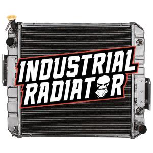 Hyster/Yale Forklift Radiator - 19 x 19 1/4 x 2 1/2 (V Fin)