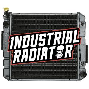 Hyster/Yale Forklift Radiator - 18 7/8 x 19 1/4 x 2 3/8 (Flat Fin)