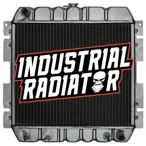 MCFA/Mitsubishi/Cat Forklift Radiator - 19 3/4 x 22 3/4 x 3 3/8