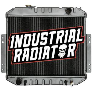 Nissan Forklift Radiator - 14 1/2 x 19 1/4 x 2