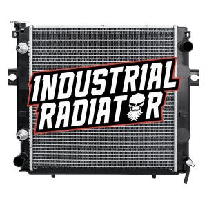 MCFA/Mitsubishi Forklift Radiator - 17 5/8 x 17 1/2 x 1 7/8