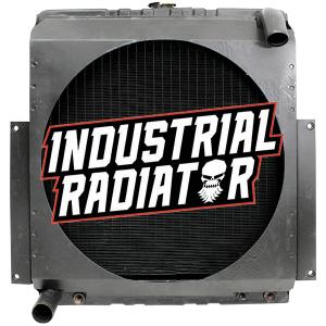 Hyster Forklift Radiator - 17 1/2 x 18 x 3 3/8