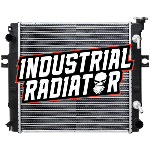 Toyota Forklift Radiator - 17 3/4 x 17 3/4 x 1 7/8 (Square Wave Core)
