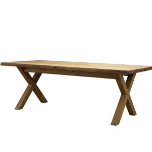 Eettafel Alex 220x100 Reclaimed Wood Industrial 66 Tholen
