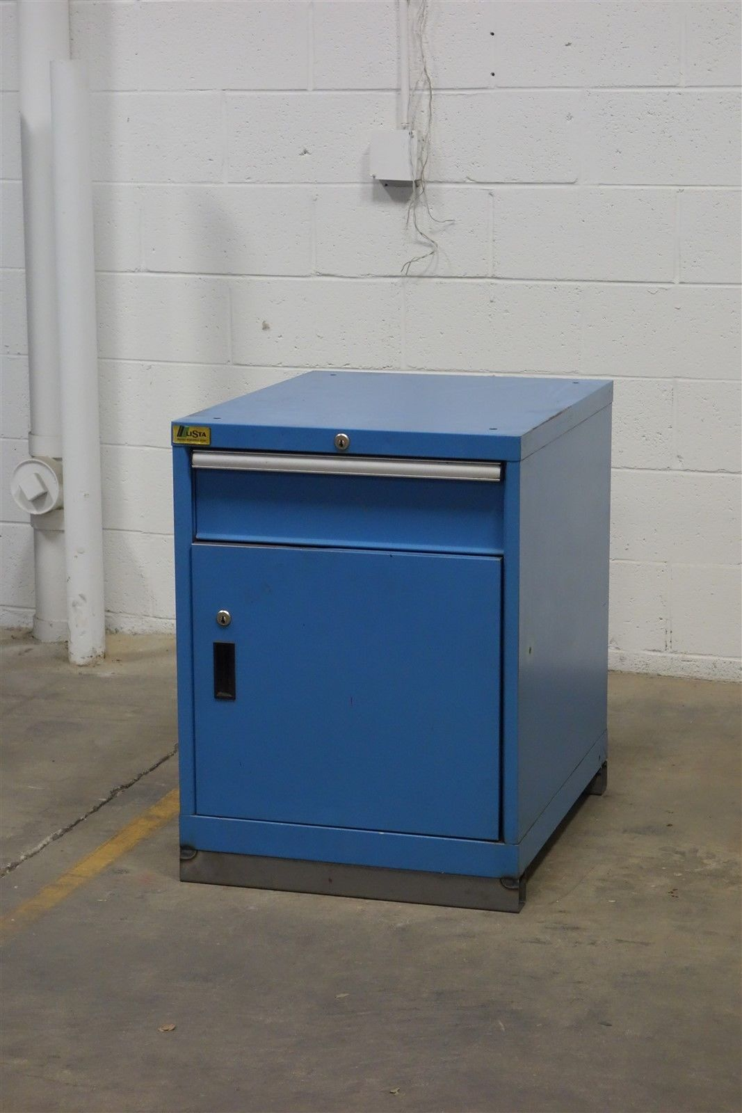 Used Lista 1 drawer cabinet 30 high 22 wide industrial