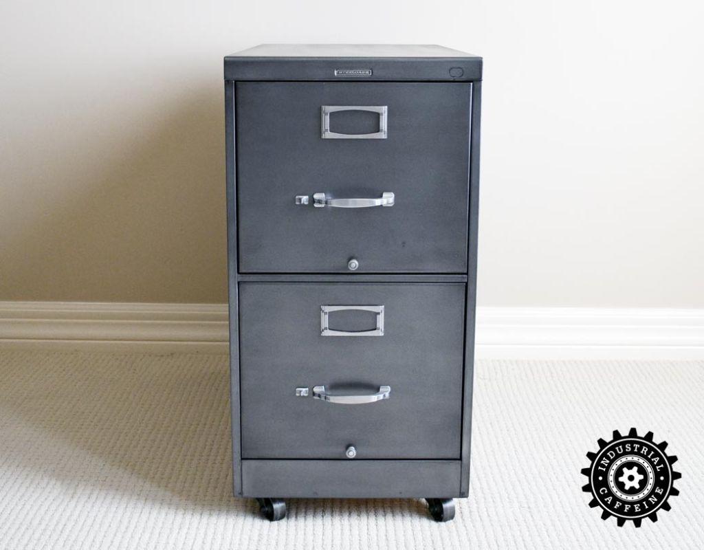 Steelcase File Cabinet  Industrial Caffeine