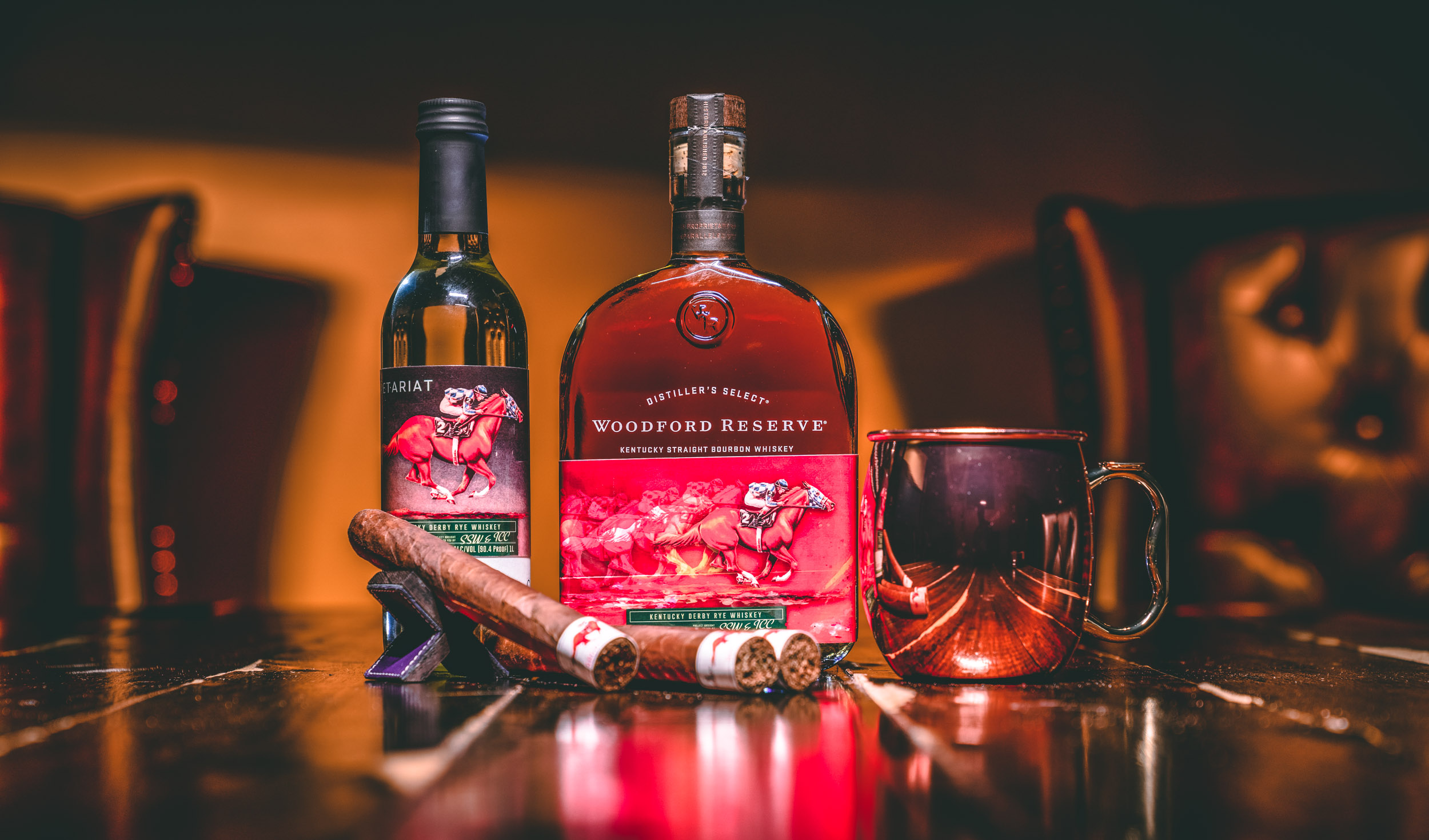 industrial cigars secretariat woodford reserve rye kentucky derby kit with someone say whiskey