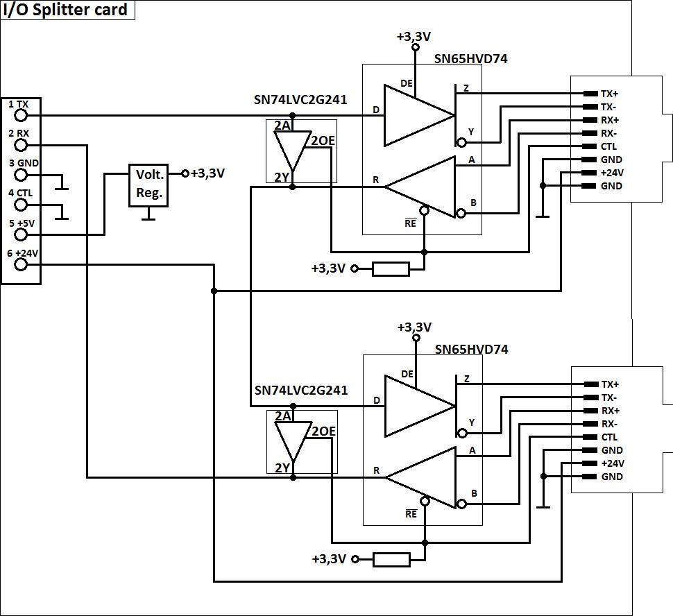 Plc I/o Schematic