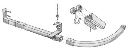 Aluminum Swish Bay Window Curtain Track Instructions Uk