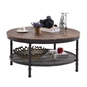 industrial coffee end tables