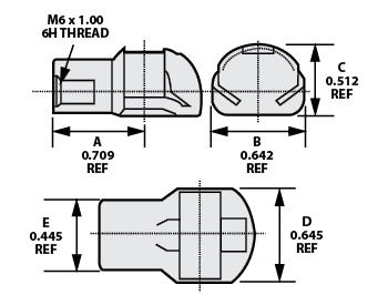 Heavy Duty Cable Connectors Low Profile Cable Connectors