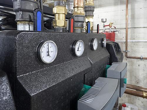Pump set - Ideal Evomax 100kW condensing boiler Hampshire