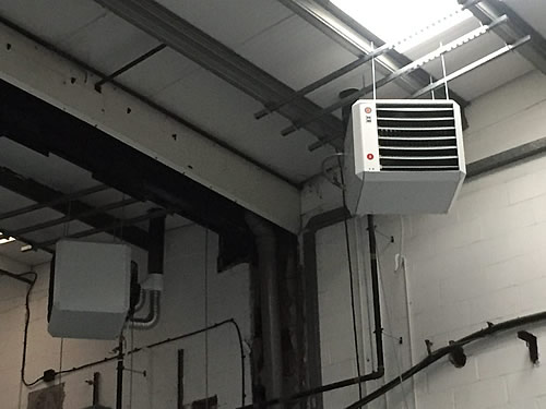 Mitsubishi air conditioning ceiling cassette installation