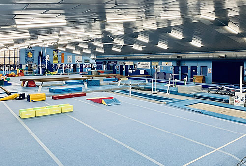 Rushmoor Gym - Industrial Heaters provide maintenance for heating and air conditioning to Rushmoor Gym Hampshire