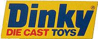 Dinky Toys logo 1970s