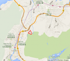 Approximate area of Lam Tei Quarry today