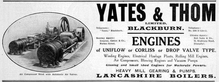 Yates and Thom Gradeguides advert