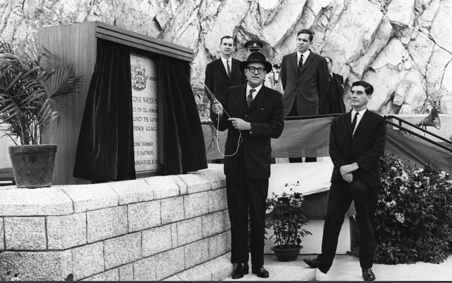 Plover Cove official opening 20.1.69 SCMP b