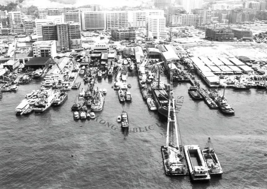 Shipyards Cheung Sha Wan post-war a