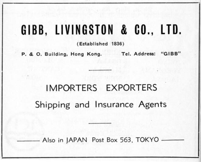 Gibb Livingston & Co Ltd-agent-advert-1953