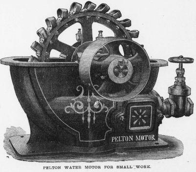 Pelton Motor