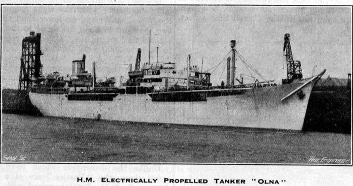 Anglo Saxon Petroleum Company Ship Olna 1946 Grace's Guides