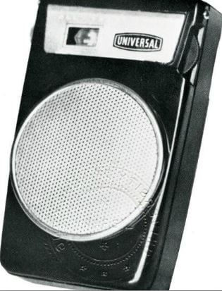 Transistors Radio 1962 report An Emerging Industry image Universal radio