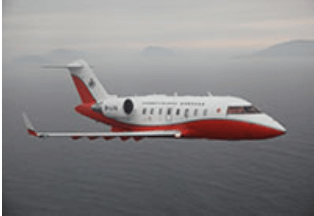 Hong Kong Government Flying Service Plane Image Challenger 605