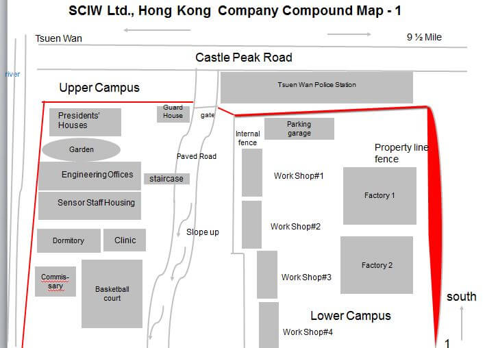 South China Iron Works Company Compound Map 1 Antonia Cheung