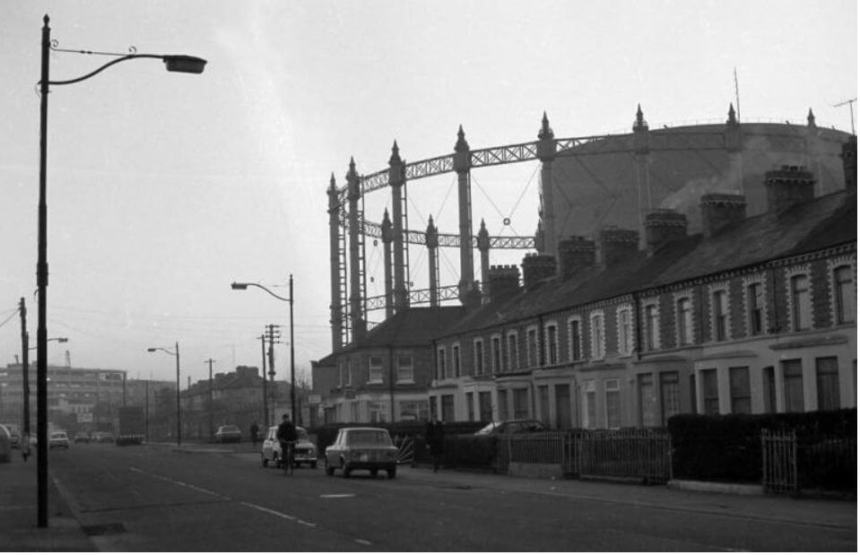 Gasworks, Ringsend, 1980s Dublin City Council Photographic Collection From Martin Daly