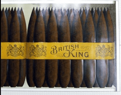 Orient Tobacco Manufactory Cigar Products Colored Lithographs D3 British King Cigars From Dheeraj Khiytani