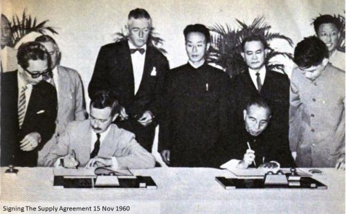 Signing The Supply Agreement