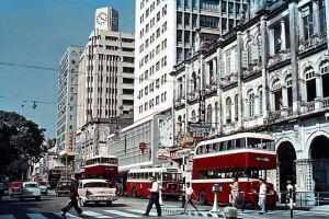 Hong Kong Telephone Building, Nathan Road, Unknown Source