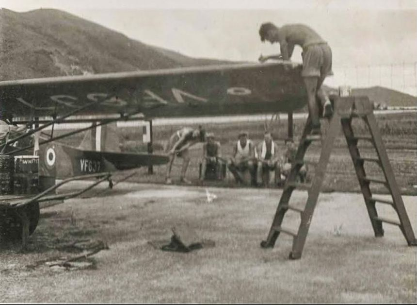 Shatin Airfield, Daily Life Image 1 Peter Howell