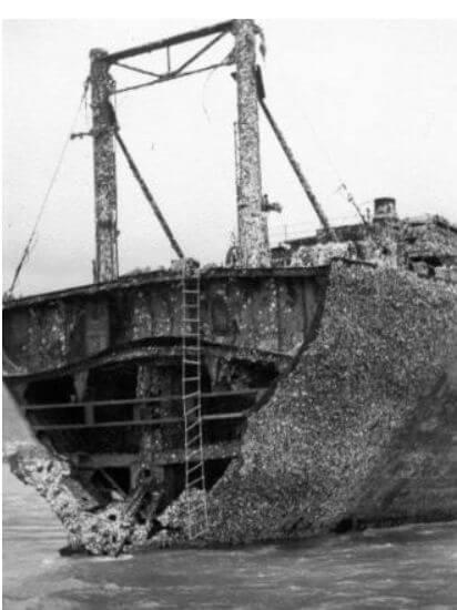 Wreck Of Itsukushima Maru