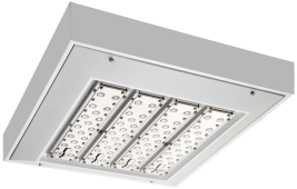 shine led parking garage canopy lighting