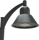 LED Architectural Area Lighting Bell Luminaire