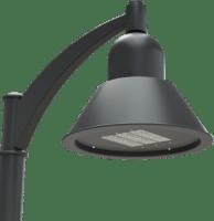 LED Area Site Lighting Bell Luminaire ENV-SS series by AV Poles