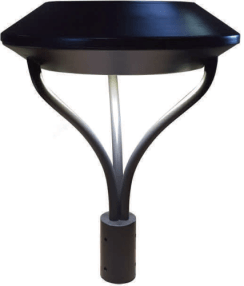 CLP LED Architectural Slim Post Top Fixtures