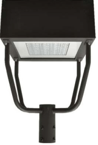 LED Parking Lot Square Post Top Fixtures