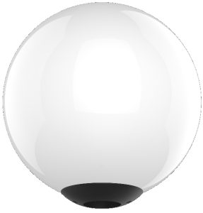 LED Traditional Globe Post Mount Lighting