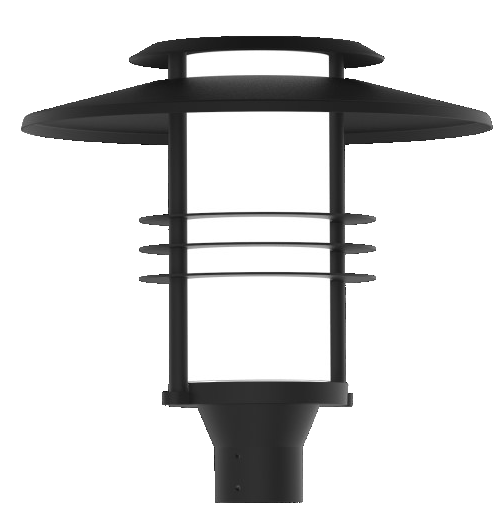 odin-architectural LED post top lighting