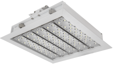 """LED Gas Station Lights Square Canopy 14"""" by Arrlux"""