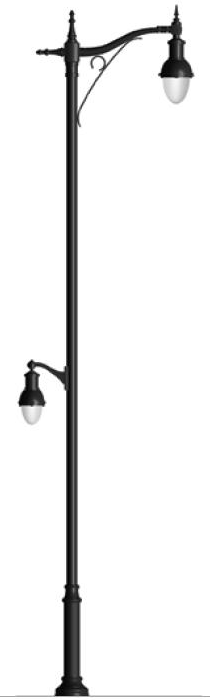 Decorative Light Poles : Decorative light poles and base covers bases