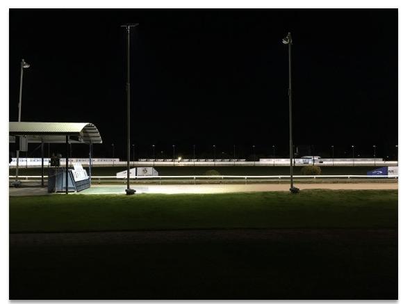 LED Sports Lighting Greyhound Racing