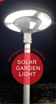 All In One Solar Garden Lights