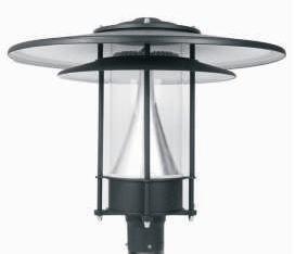 LED Courtyard Post Lighting