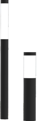 astral ii led column architectural outdoor lighting